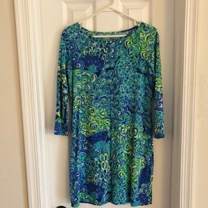 EUC Lilly Lagoon Dress S